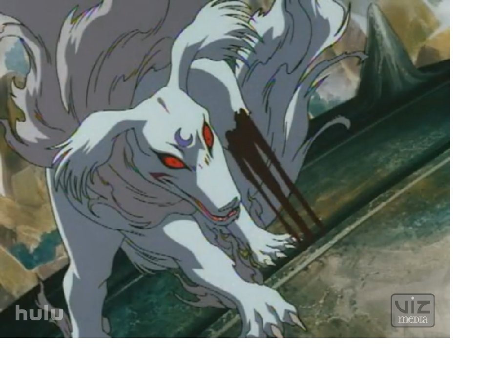 Sesshomaru dog form