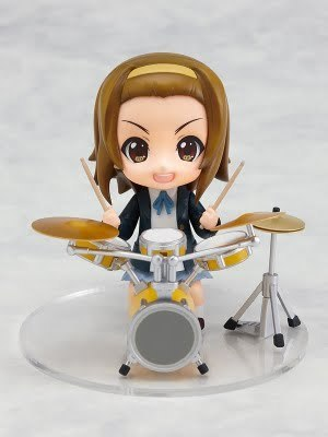 k-on! figma 玩偶