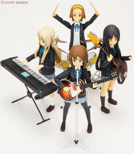 k-on! figma dolls