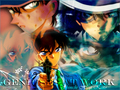 kaito, heiji and shinichi - detective-conan wallpaper