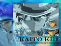 kaitou kid &lt;3 - detective-conan wallpaper