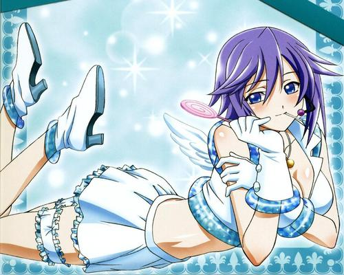 mizore in a pose
