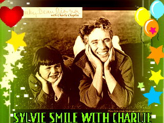 KEEP SMILING wallpaper called ♫♥SYLVIE SMILE WITH GREAT CHARLIE'S SMILE SÖNG♥♫ VICKY