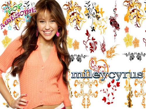 "Hannah Montana wallpaper titled ""miley cyrus""-pop awesome ""EXCLUSIVE""pics"