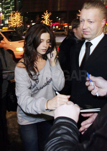 02.17.10: Signing Autographs in Berlin