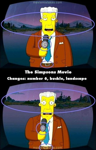 20 Biggest Mistakes In The Simpsons Movie
