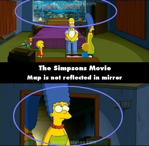 Gia đình Simpson hình nền titled 20 Biggest Mistakes In The Simpsons Movie