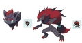 A new pokemon that looks like shadow