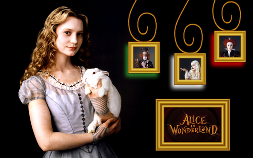 Alice wallpaper - fotografia Frames
