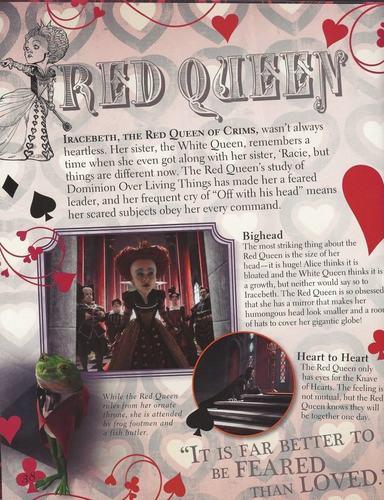Alice in Wonderland Visual Guide Scans **SPOILERS**