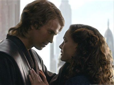 Anakin and Padme wallpaper titled Anakin and Padmé