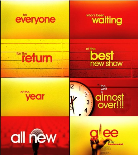 April promo - glee Fan Art