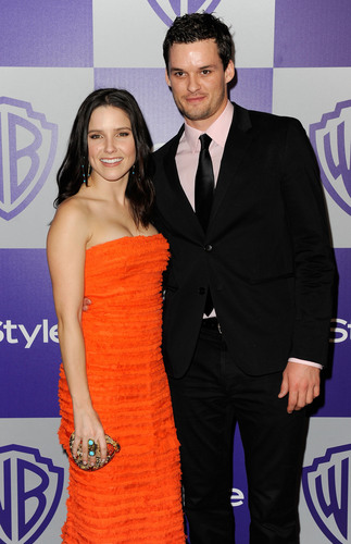Austin Nicholls and Sophia গুল্ম at 11th Annual Warner Brothers And InStyle Golden Globe After-Party