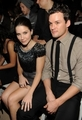 Austin Nicholls and Sophia arbusto, bush at NY Fashion Week