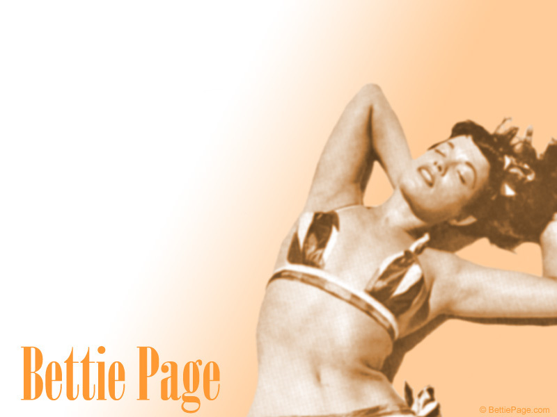 bettie page wallpaper. Bettie Page