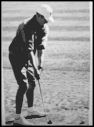 Brandon Flowers, Playing GOLF, When he was young.