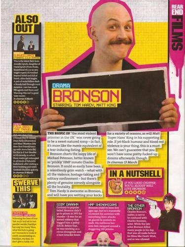 Bronson magazine article