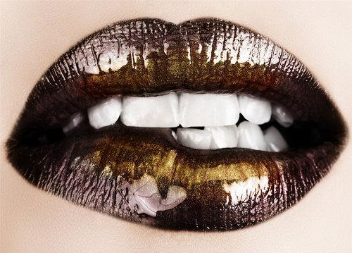Lips wallpaper entitled Brown Lips