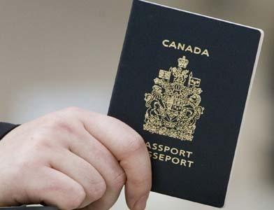 Canadian passeport