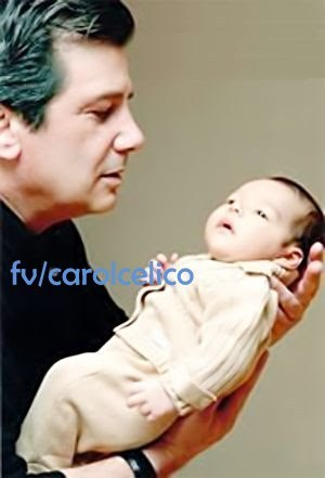 Celso Celico (Caroline1s father) and Luca