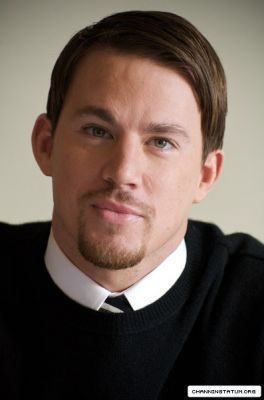 Channing @ Dear John Press Conference