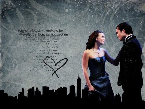 Blair & Chuck wallpaper titled Chuck and Blair