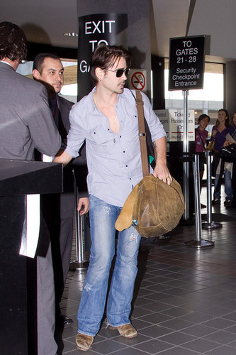 Colin At LAX Airport