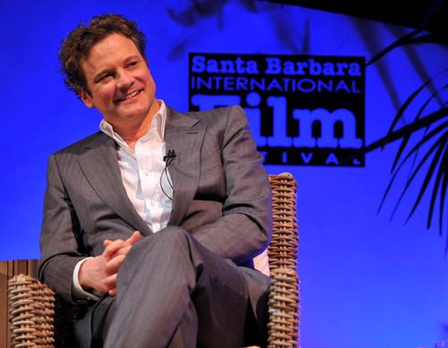 Colin Firth at the 25th Annual Santa Barbara International Film Festival