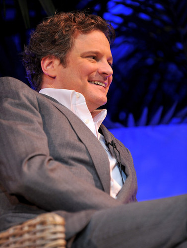 Colin Firth at the 25th Annual Santa Barbara International Film Festival