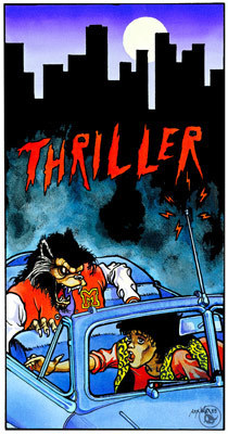 Comic thriller