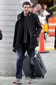 Cory Monteith at Vancouver International Airport - glee photo