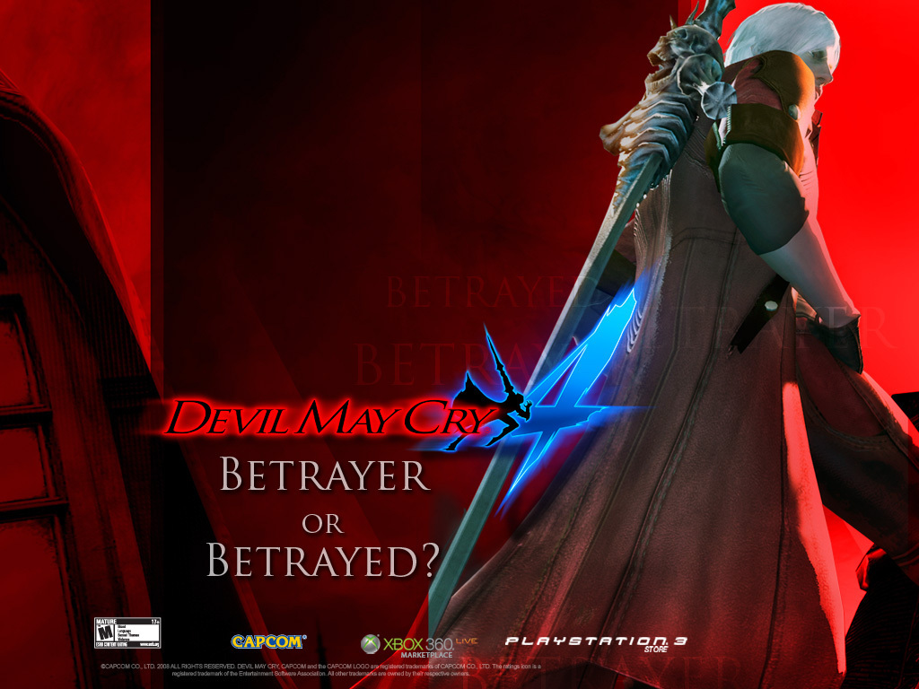 Devil May Cry 4 Images Dante Hd Wallpaper And Background Photos