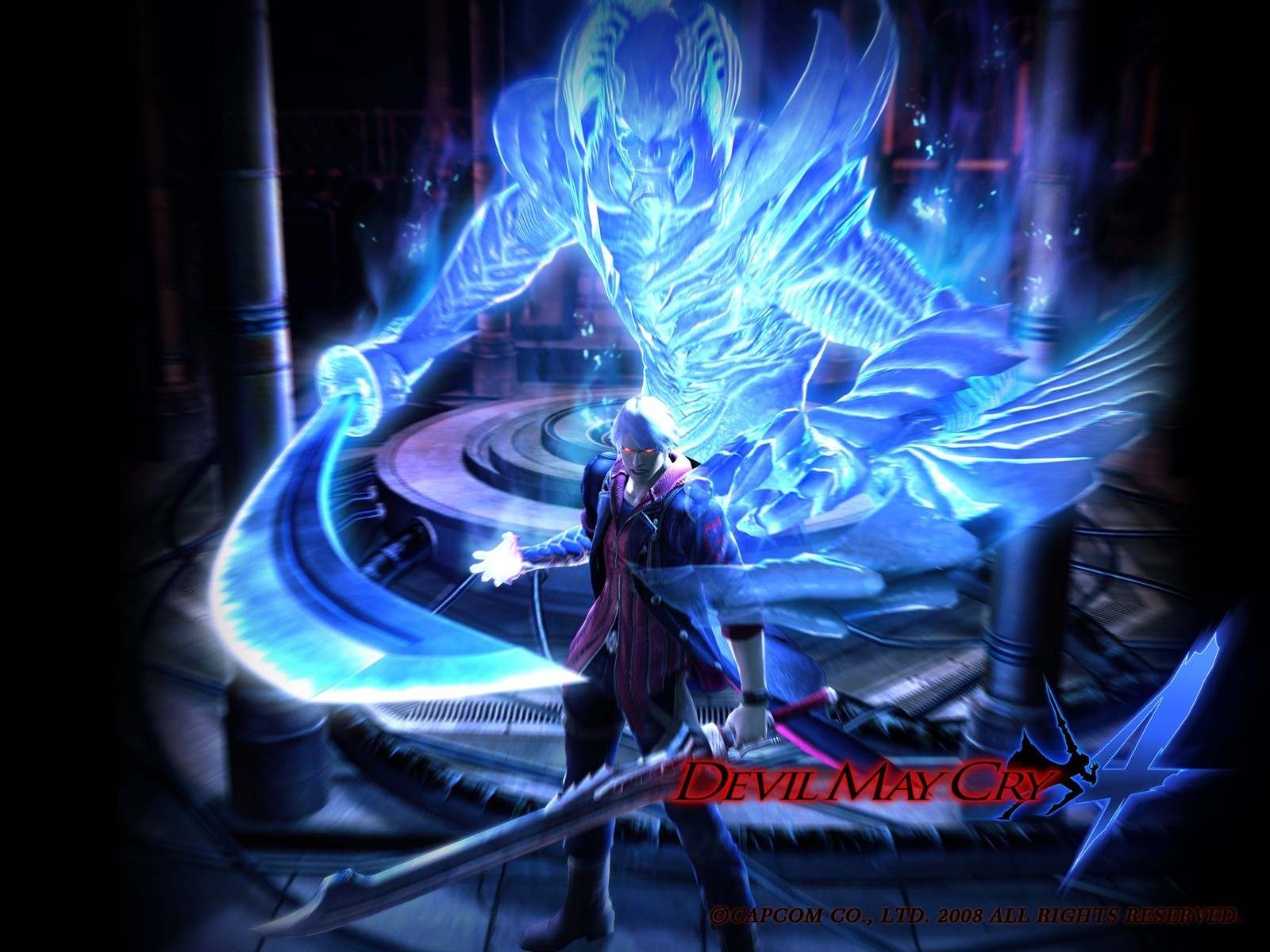 Devil May Cry 4 Wallpaper (10480378
