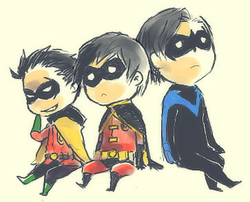 Dick, Tim, and Damion-Three Robins