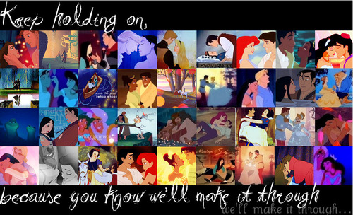 Disney Couples Collage