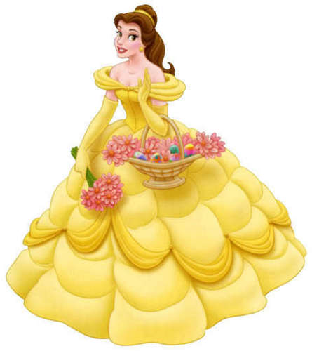 Classic Disney hình nền titled Beautiful Belle