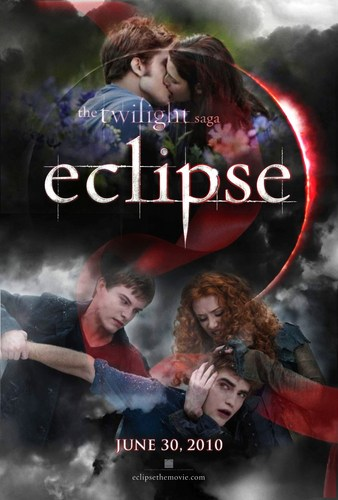 Eclipse Movie Poster - 팬 made