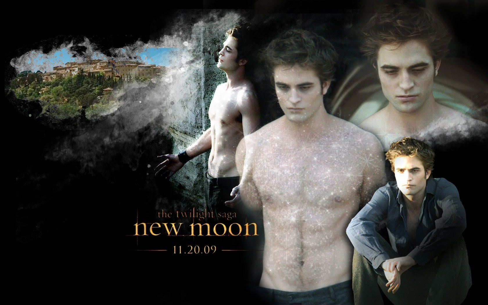 Edward Cullen New Moon Twilight Series Wallpaper