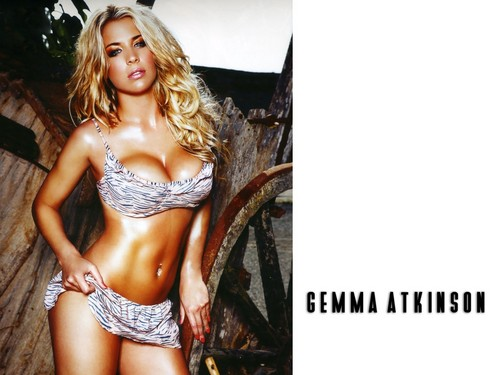 hot women wallpaper titled Gemma Atkinson