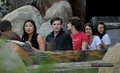Glee Cast @ Disneyland on Valenitnes giorno (2010)