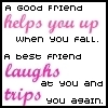 Having a Best Friend photo called Good Friend vs. Best Friend