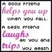 Good Friend vs. Best Friend