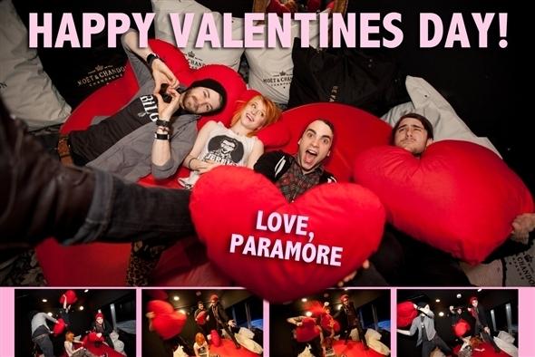 HAPPY(LATE)VALENTINES دن EVERYBODY!