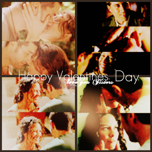 Happy Valentines দিন Jisters, ILY<33