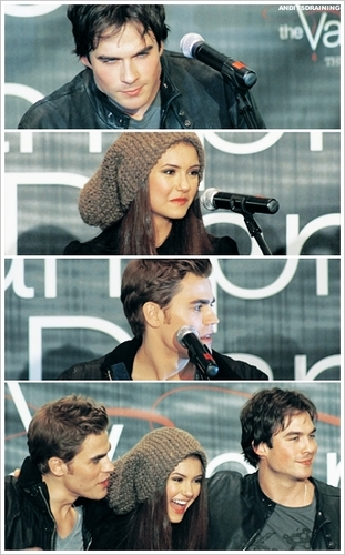 Ian Nina Paul - Hot Topic Tour LA