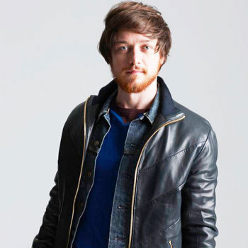 James McAvoy Photoshoot For Nylon Guys Magazine