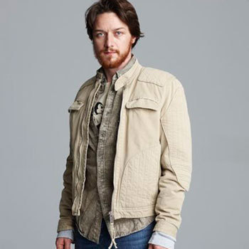 James McAvoy wallpaper titled James McAvoy Photoshoot For Nylon Guys Magazine