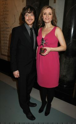 James McAvoy at The Londres Evening Standard British Film Awards 2010