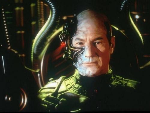 Jean-Luc Picard as Locutus of Borg