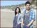 Jemi shooting the সঙ্গীত video for 'Make a Wave'. 15.02.10